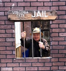 Phil in jail