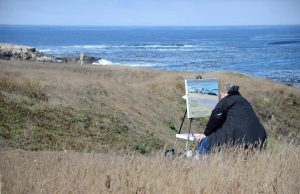 Plein-air painter